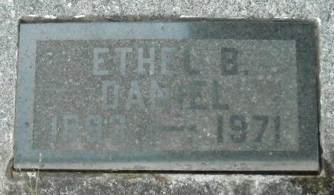 Ethel B <i>Daniel</i> Berry