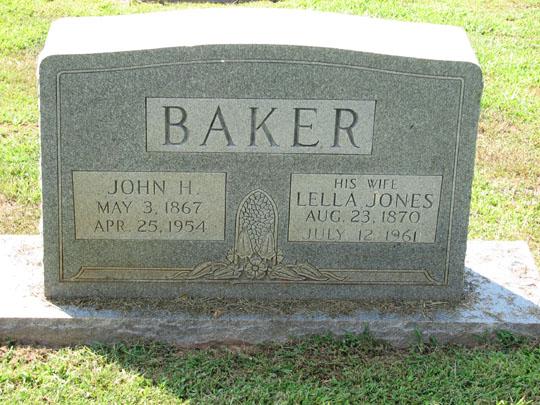 John Edwin Harrison Baker