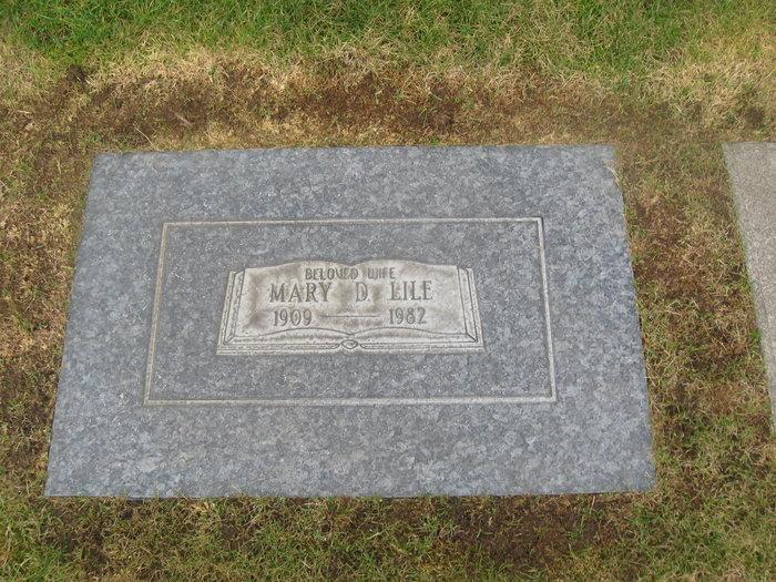 Mary Darlene <i>Kuzaro</i> Lile