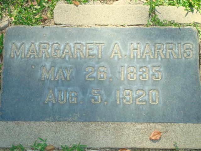 Margaret A <i>Hern</i> Harris