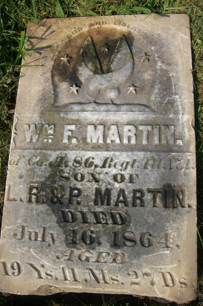 Pvt William Franklin Martin