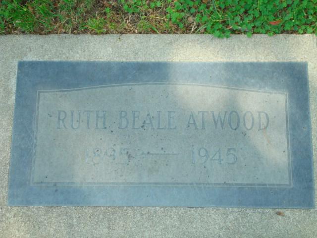 Ruth <i>Beale</i> Atwood