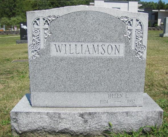 Mrs Helen L Williamson