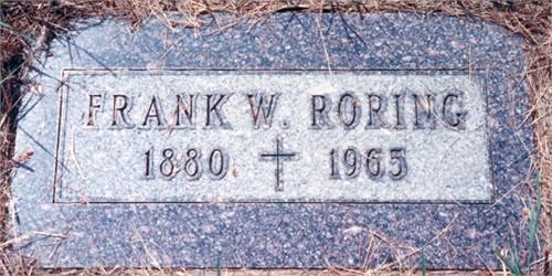 Frank William Roring