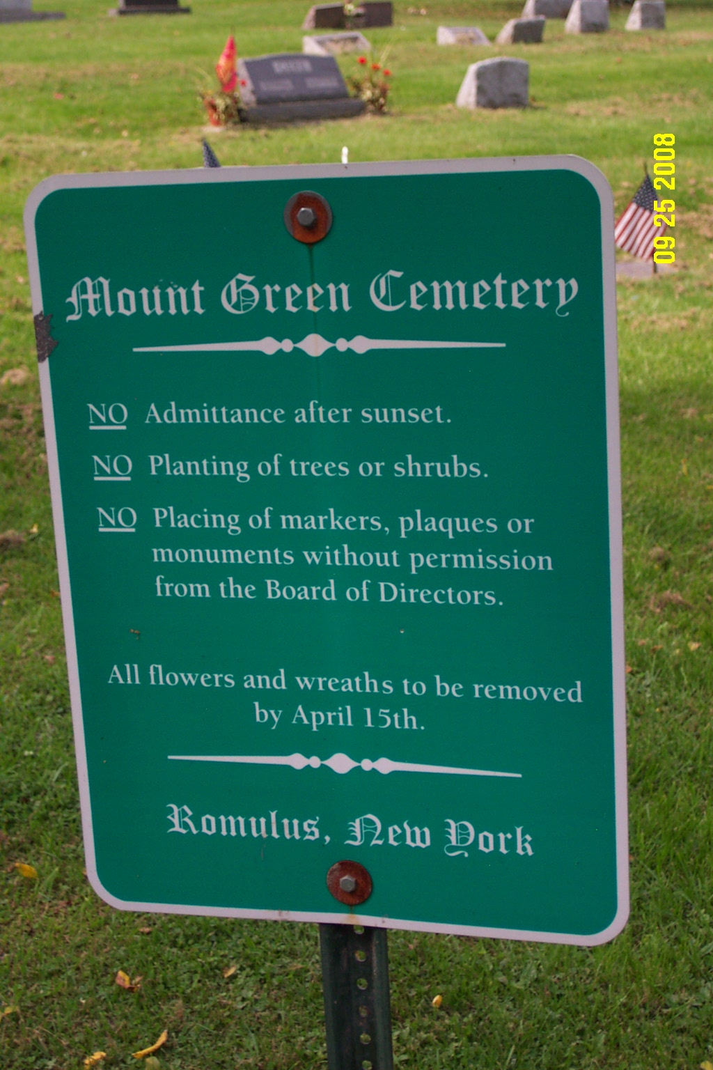 Mount Green Cemetery