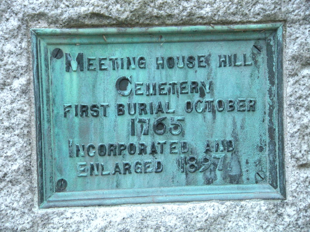 Meeting House Hill Cemetery