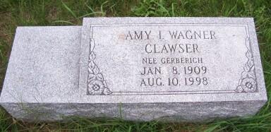 Amy Irene <i>Gerberich</i> Clawser