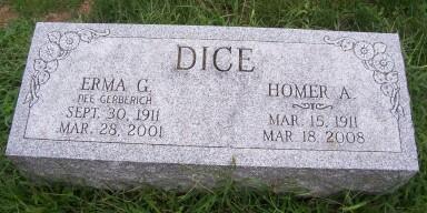 Erma Grace <i>Gerberich</i> Dice