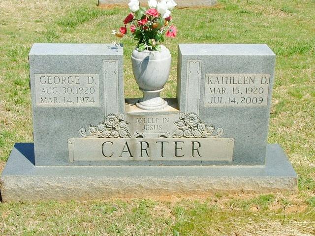 Kathleen <i>Davis</i> Carter