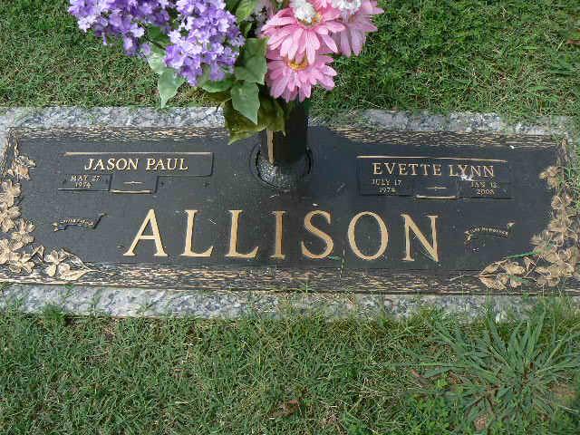 Evette Lynn Allison (1974-2008) - Find A Grave Memorial