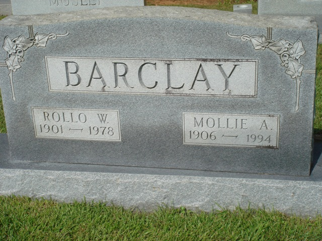 Rollo W Barclay