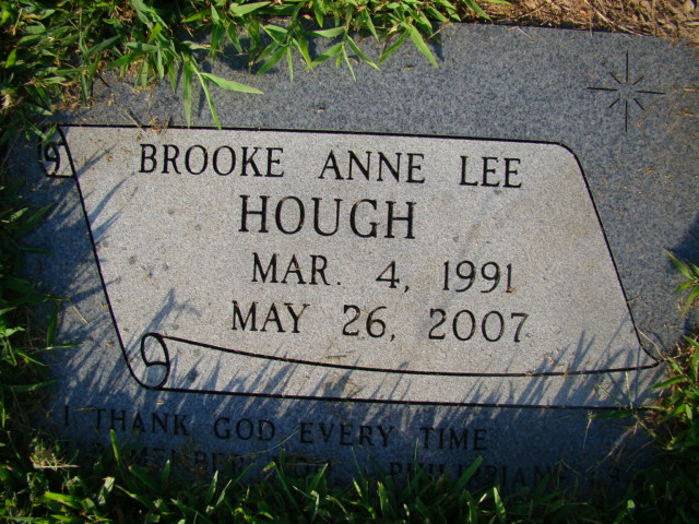 Brooke Anne Lee Hough