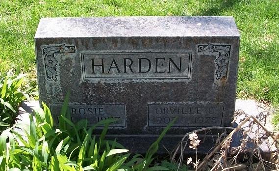 Rosie <i>Schoenberg</i> Harden