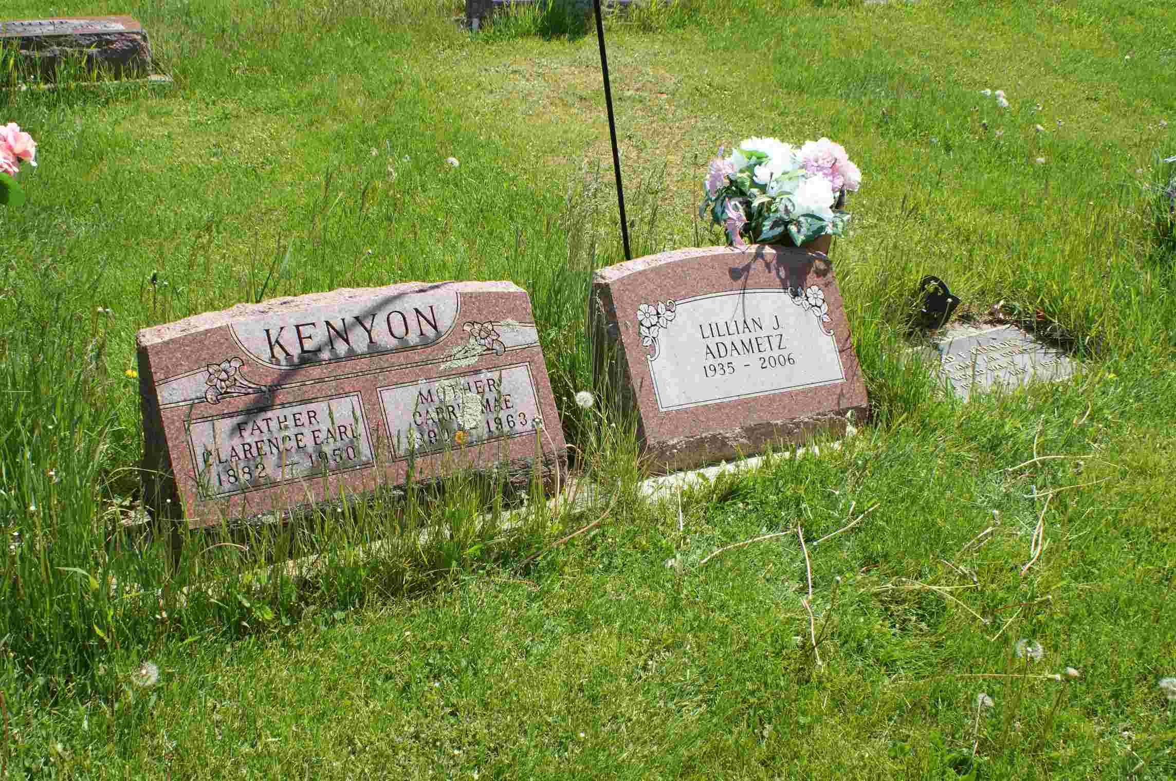 Lillian Jeanette <i>Kenyon</i> Adametz