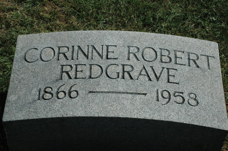 Corinne <i>Robert</i> Redgrave
