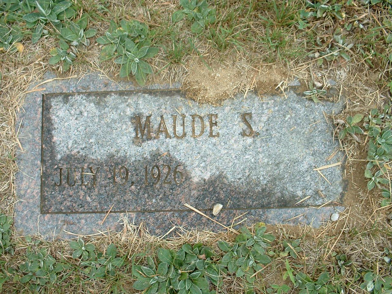 Maude S. <i>Woodman</i> Gilpatrick