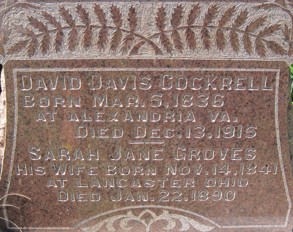 Sarah Jane <i>Groves</i> Cockrell