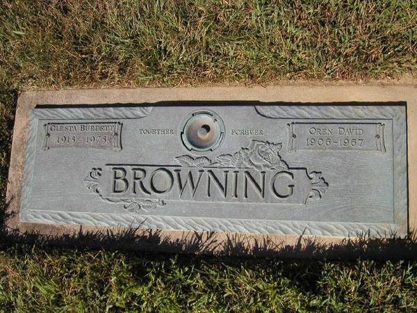 Clesta <i>Speary</i> Berdett Browning
