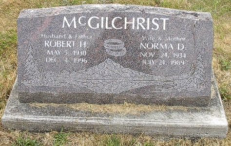 Norma D <i>Kime</i> McGilchrist