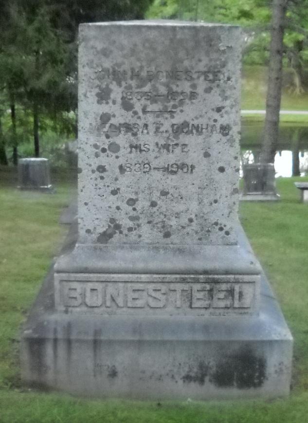 Melissa E <i>Dunham</i> Bonesteel