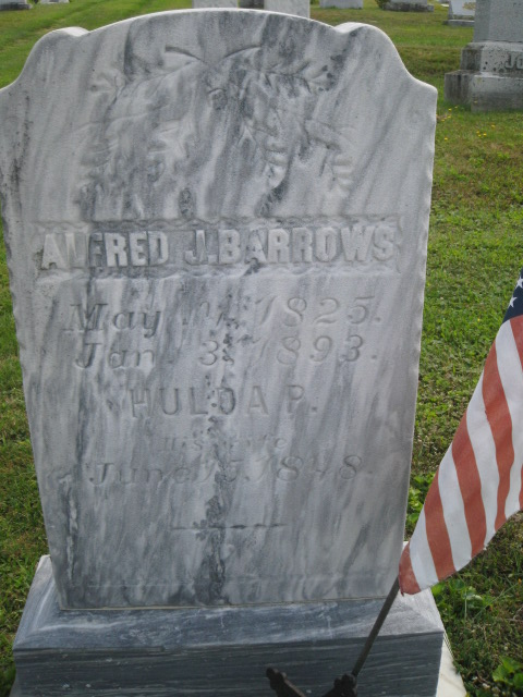 Corp Alfred James Barrows