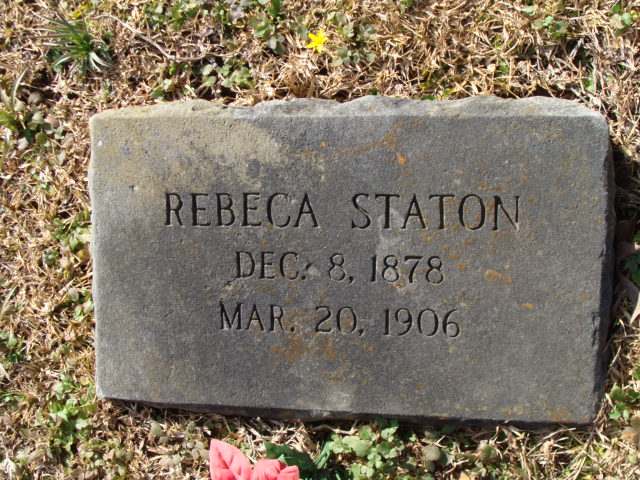 Rebecca T. <i>Goodwin</i> Staton
