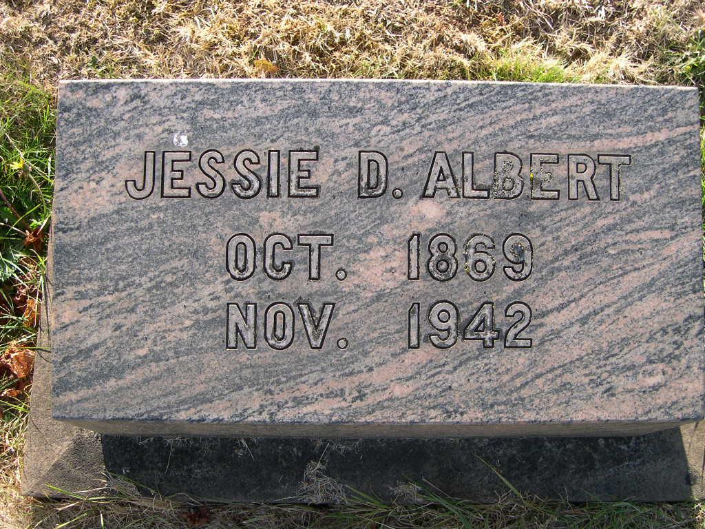 Jessie D. <i>Dalrymple</i> Albert