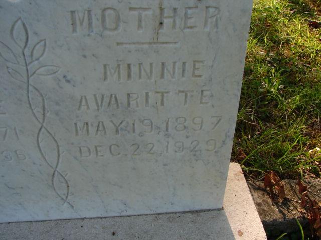Minneto Minnie <i>Bohannon</i> Avaritte