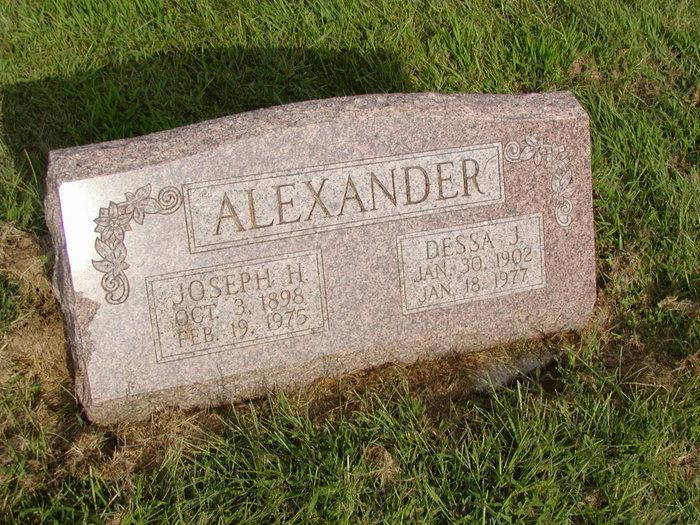 Dessa J Alexander