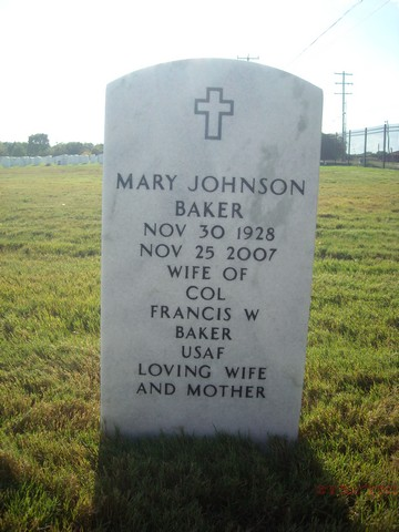 Mary Doris <i>Johnson</i> Baker