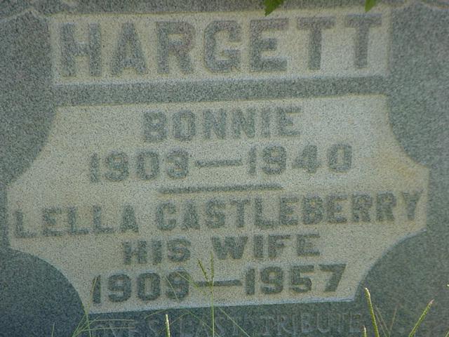 Lella <i>Castleberry</i> Hargett