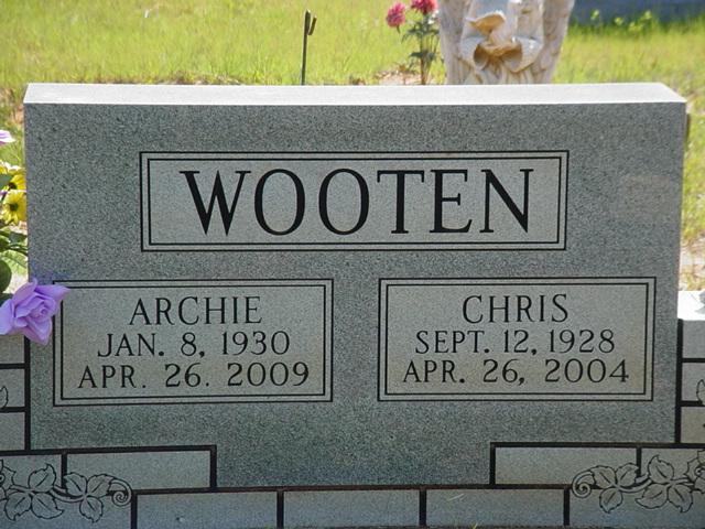 Christine <i>Hargett</i> Wooten