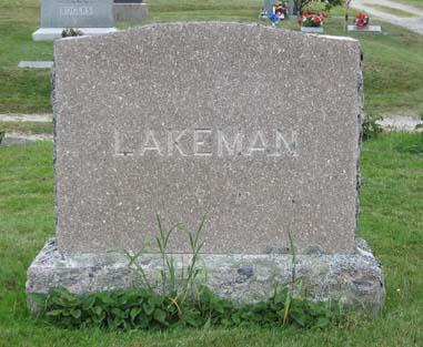 Vera A <i>Hall</i> Lakeman