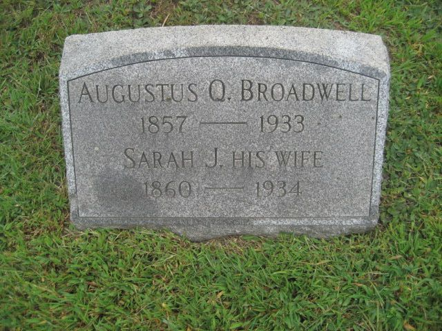 Augustus Q Broadwell