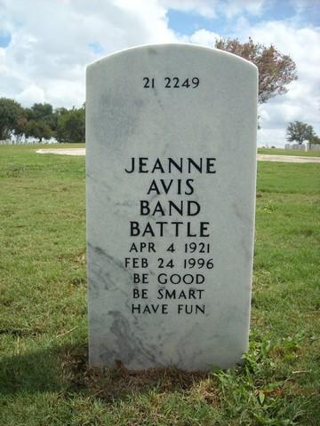 Jeanne A Battle