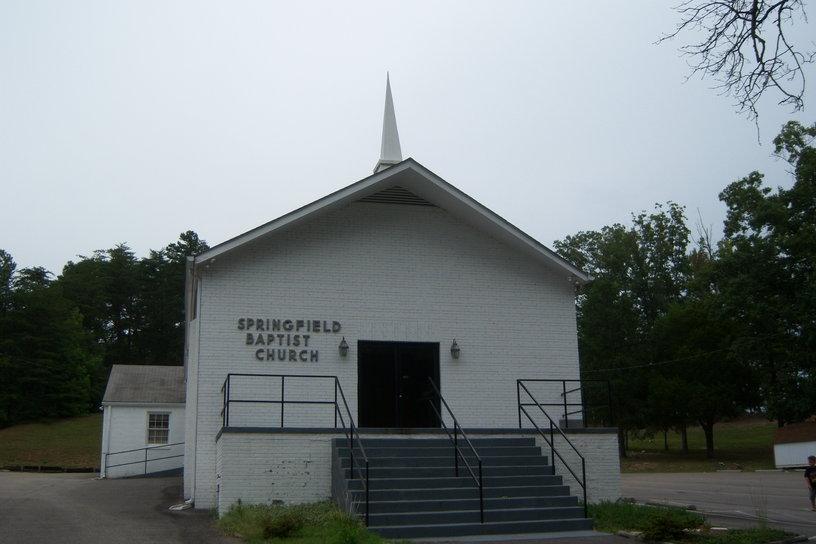 springfield baptist church cemetery in mechanicsville virginia