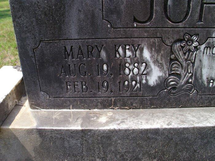 Mary <i>Key</i> Johnson