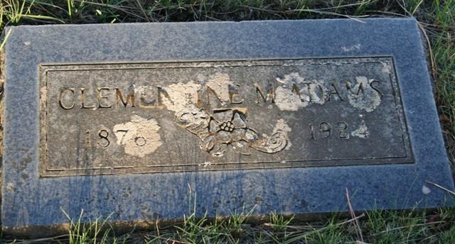 Clementine M. <i>Hawk</i> Adams