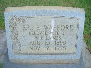 Essie <i>Wafford</i> Ijames