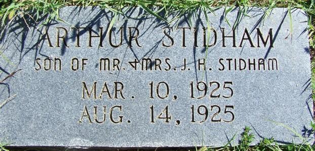 Arthur Thomas Stidham