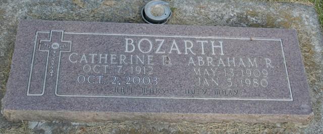 Abraham Roscoe Bozarth