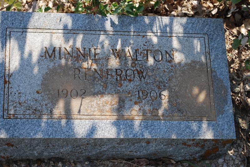 Minnie Walton Renfrow