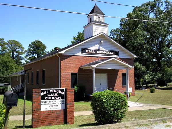 Hall Memorial CME Church Cemetery