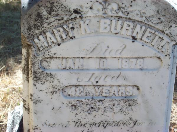 Mary <i>Kennedy</i> Burnett