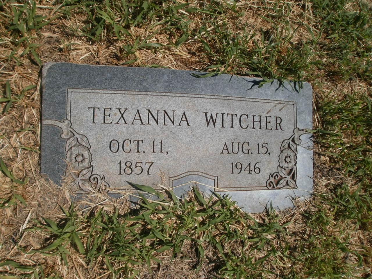 Texanna Tex <i>Allred</i> Witcher