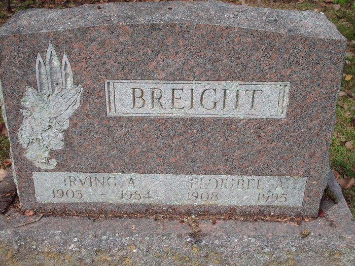 Floribel Alice <i>Squires</i> Breight