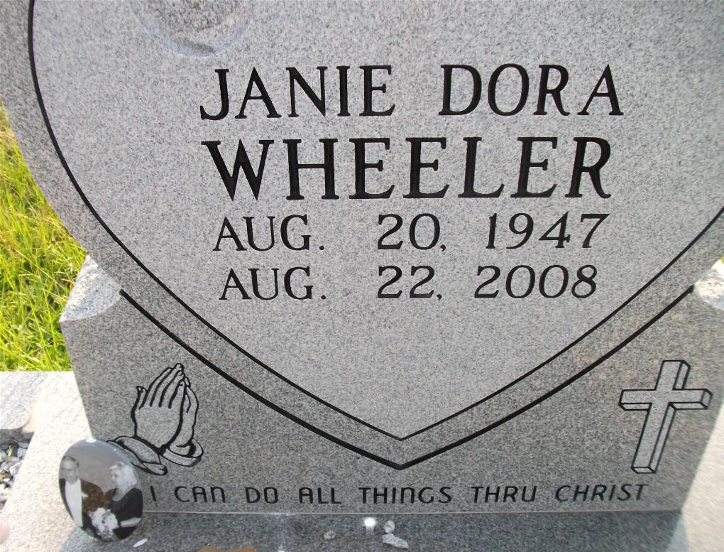 Janie Dora <i>Burson</i> Wheeler