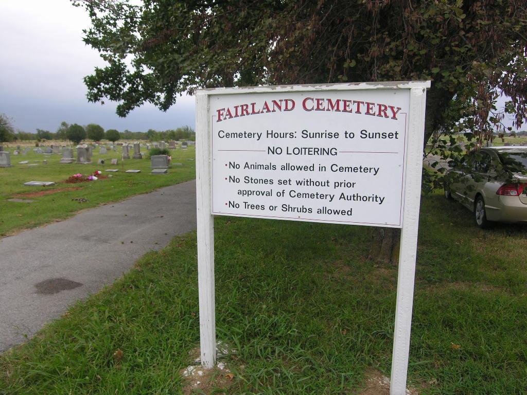 Fairland Cemetery