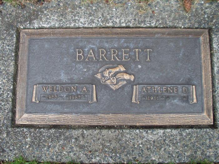 Athlene D. <i>Hepler</i> Barrett