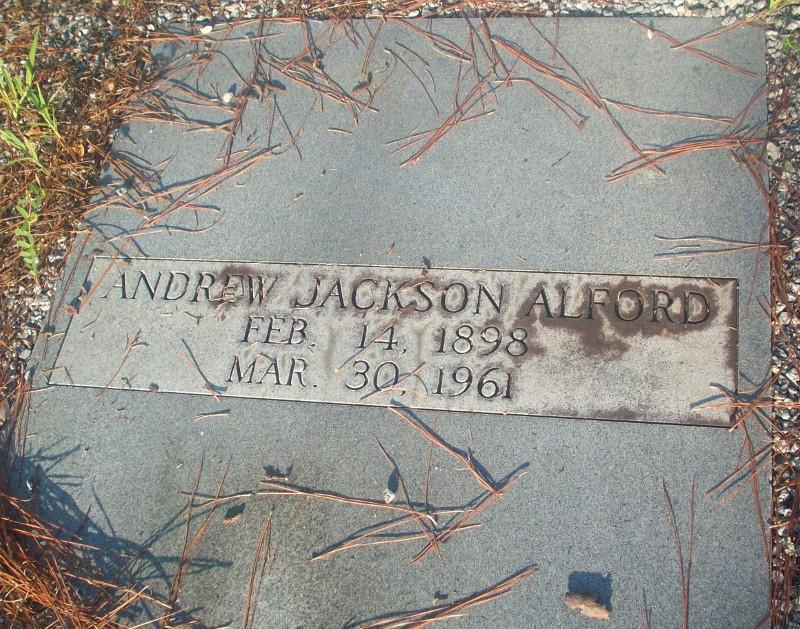 Andrew Jackson Alford